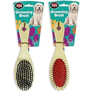 Customer reviews Grooming Brush Set Pet Dog Comb Bristle Hair Healthy Soft World of Pets Home:Hitspoker