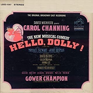 Hello, Dolly - Original Broadway Cast Recording - Vinyl LP Record