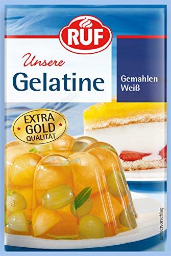 Ruf Gelatine weiss Gemahlen, 56er Pack (56 x 3 x 9 g Packung)