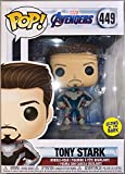 Funko Pop Avengers Endgame Tony Stark Unmasked Iron Man Glow in The Dark Target Exclusive...