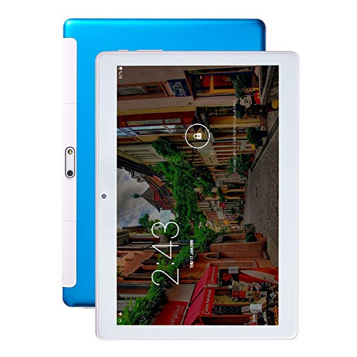 CRZ Tableta, Pantalla IPS HD de 10.1 Pulgadas, procesador de Ocho núcleos con Tarjeta SIM Dual, Soporte WiFi, Bluetooth, GPS, Tableta de Llamada 3G, Cuerpo de Metal, portátil, Almacenamiento de 16 GB