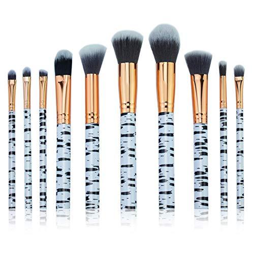 Dosige Pinceaux Professionnels Maquillage Cosmétique Brosse Set Outils 10 Pcs