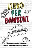 Libro per Bambini- Barzellette, Scherzi e Indovinelli: I Migliori Giochi per Bambini di una Volta: Nascondino, Campana...