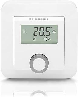 Bosch Smart Home Kamerthermostaat (2x AAA-batterij, voor radiatorthermostaten, inclusief weergave van luchtvochtigheid – c...
