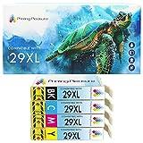 Printing Pleasure 29XL   4 Cartucce d'Inchiostro 29 XL compatibile per Epson Expression Home XP-245 XP-247 XP-335 XP-342 XP-352 XP-442 XP-445 XP-452 XP-455 XP-255 XP-257 XP-332 XP-345 XP-355