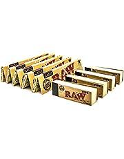 RAW sigarettenpapier, King Size, met 4 schriften, 5 verpakkingen