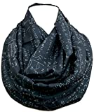 Mathematics infinity scarf for engineers, teachers, nerds, algebra Math accessories for her geeky student