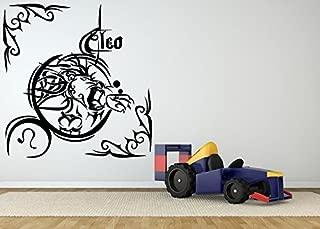 Wall Room Decor Art Vinyl Sticker Mural Decal Horoscope Sign Leo Tattoo AS2006