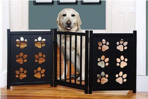 popular Etna outlet sale Pet Gate wholesale with Paw Cutouts outlet online sale