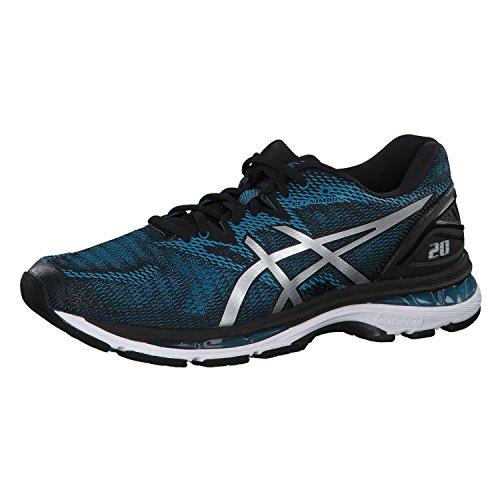Asics Gel-Nimbus 20, Zapatillas de Running para Hombre, Azul (Island Blue/White/Black 4101), 42 EU