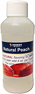 Brewer's Best Natural Beer and Wine Fruit Flavoring (Peach)