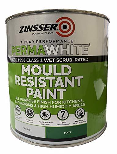 Zinsser Perma White  Interior Paint Matt White 1L