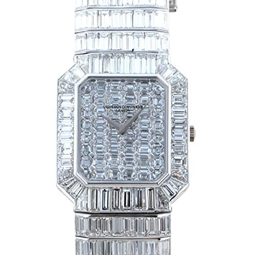 ヴァシュロン・コンスタンタン VACHERON CONSTANTIN PAGODE KALLA22131 全面ダイヤ文字盤 中古 腕時計 レディース (W205008) [並行輸入品]