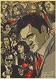 yangchunsanyue Póster De Película De Perro De Reserva De Quentin Tarantino Kill Bill Django Unchained 40x60Cm No Frame (Zr-1730)