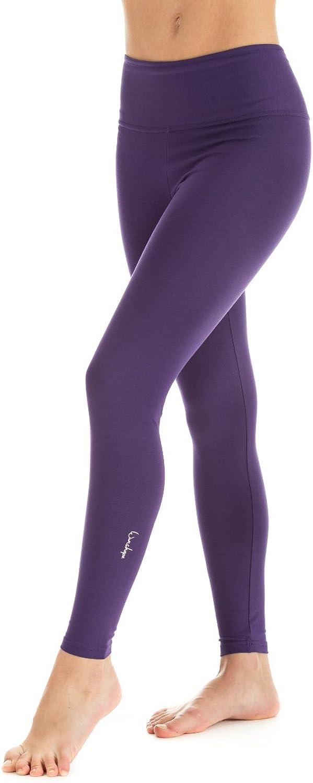 (Medium, Purple - Dunkel-purple) - Winshape Women's Fitness Recreational Sports Long Slim Tights Leggings