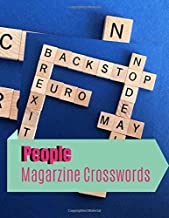 People Magarzine Crosswords: Fill In Crosswords Framework Puzzle Book, Word Search And Crossword Puzzle Books, Find Puzzles for Relaxation, A Unique Gift for Seniors, Adults, and Teens