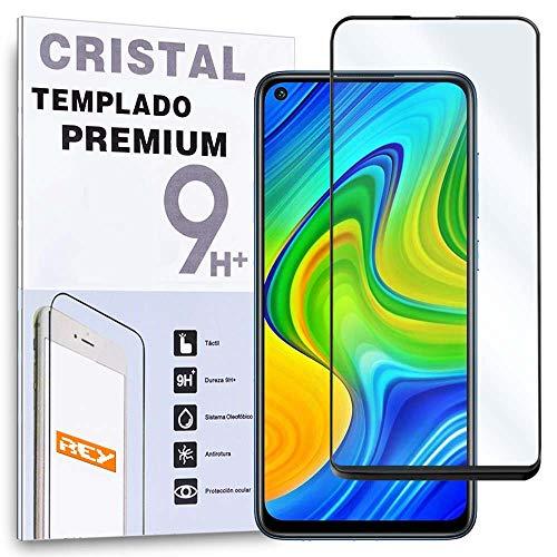 Protector de Pantalla Curvo para XIAOMI REDMI NOTE 9S - NOTE 9 PRO MAX - NOTE 9 PRO - POCO X3 NFC - NOTE 9 PRO 5G, Negro, Cristal Vidrio Templado Premium, 3D / 4D / 5D
