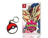 Pokemon Shield - Nintendo Switch- Versão Amazon Com Chaveiro Pokebola