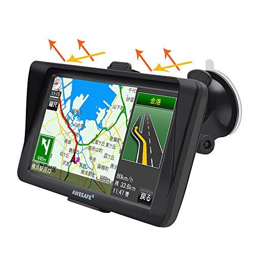ポータブルカーナビ 7インチ 液晶タッチパネル 高性能GPS カーナビゲーション 車載カーナビ 2020年 最新地図 対応