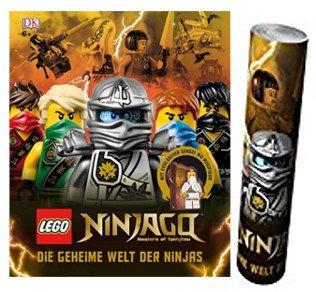 DK Verlag Lego® NINJAGO® Die geheime Welt der Ninjas + Ninjago Poster von Collectix