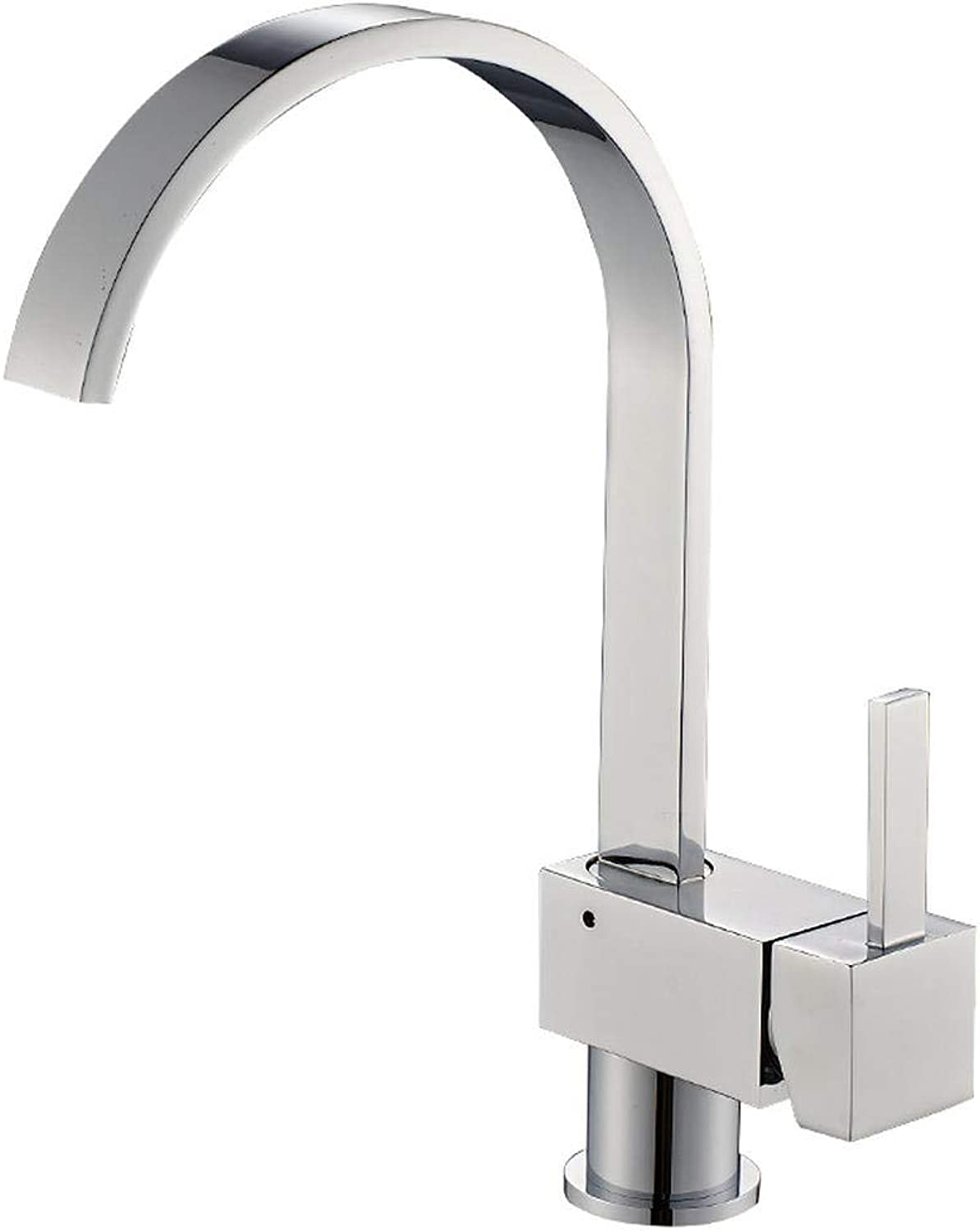 Kitchen Cold and hot Water Faucet Kitchen Cold and hot Water Faucet Dishwasher Faucet quadrangular redary Bathroom Faucet Wholesale