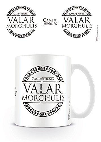 Pyramid International Game of Thrones (Valar Morghulis) Keramikbecher, Keramik, Mehrfarbig, 8.5 x 12 x 10.5 cm