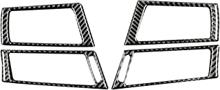 Accesorios para descapotable Bodbii la Linterna del Coche botón Interruptor de Control de la Cubierta de Panel de Ajuste de la decoración de Fibra de Carbono para BMW Serie 3 E90 E92 E93 2005-2012