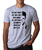 ShutUp Co. Fight Club Tyler Durden We Buy Things We Dont...