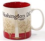 Starbucks Coffee 2011 Washington DC Mug, 16 fl oz