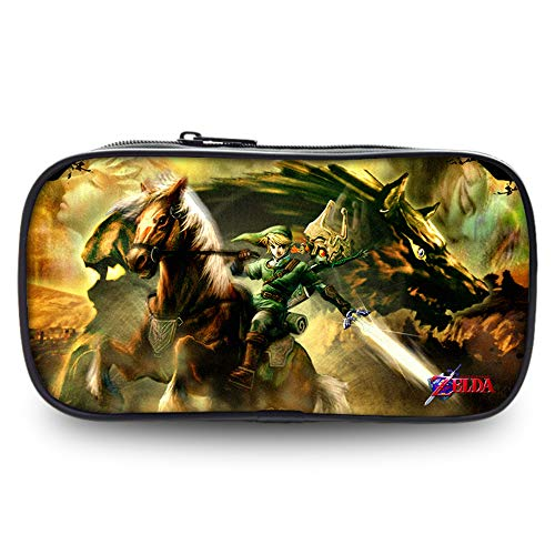 The Legend of Zelda Pencil Cases Printing Large Capacity Pencil Cases Pen Case Pencil Bag Pouch School Student Boys Girls (Color : A11, Size : 22 X 4.5 X 11cm)