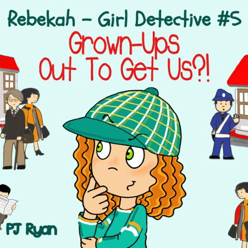 Rebekah - Girl Detective #5 audiobook cover art
