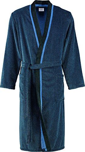 Cawö Kimono 4839 58 Peignoir en velours pour homme