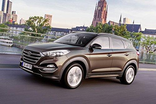 Maßgefertigt Für Hyundai Tucson ab 2015. In diesem Angebot SCHWARZ Unico (In 7 Farben bei Anderen Angeboten erhältich).