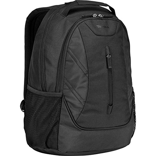 Targus Ascend Professional Business Laptop Backpack, Sleek and Durable Travel Commuter Bag, Improve Back Support with Padded Shoulder Straps and Back Panel, Fits up to 16-Inch Laptop, Black (TSB710US)