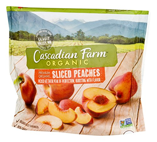 Cascadian Farm, Sliced Peaches, Organic, 10 oz (Frozen)