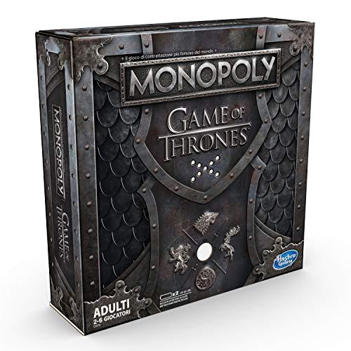Hasbro E3278 Monopoly Game of Thrones, Gioco Adulti, 2-6 giocatori (Edizione in Italiano)