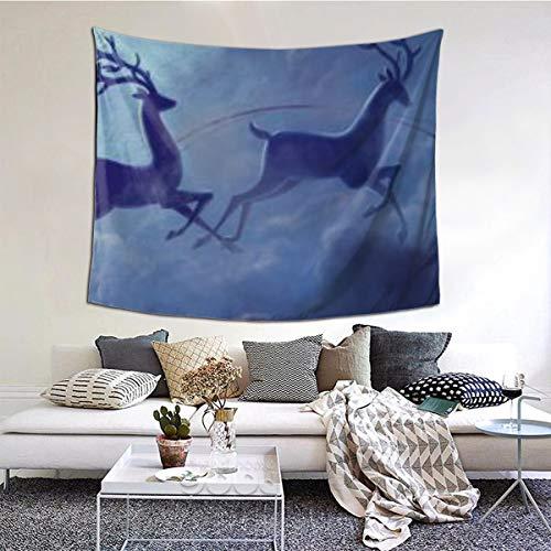RROOT Dreifach-Monitor – Multi-Bildschirm – Mehrfach – Noel NoA Home Decor Tapisserie 152,4 x 129,5 cm, einfarbig, 60*51inch
