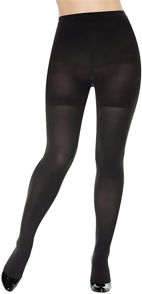 SPANX Tight-End Tights Shaping Opaque, B, Oxidized Purple