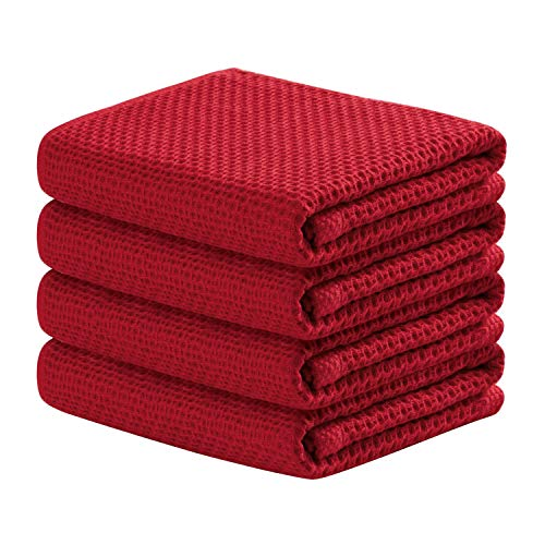 Top 10 Best Selling List for dark red kitchen towels