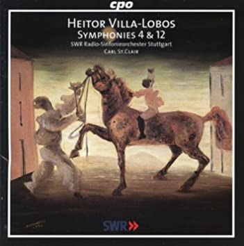 Villa-Lobos: Symphonies Nos. 4 & 12