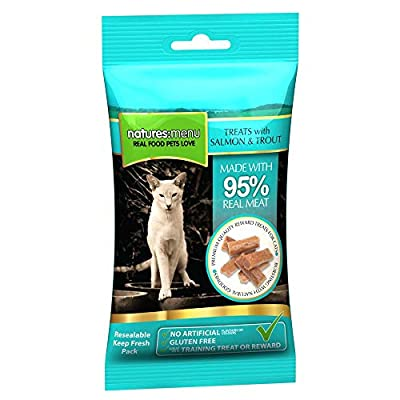 Natures Menu Cat Treats Real Fish Salmon & Trout, 60g