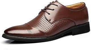 [Orihime] メッシュ 革靴 メンズ ビジネスシューズ 紳士靴 サンダル カジュアル 通勤靴 防臭 通気穴 滑り止め 軽量