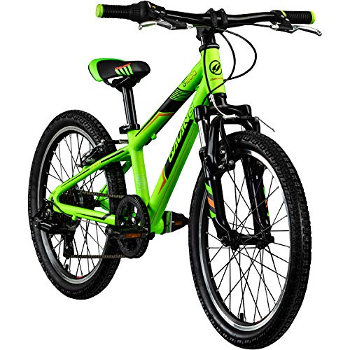 Galano Kinderfahrrad 20 Zoll Mountainbike Kinder Fahrrad ab 6 Jahre G200 7 Gang (grün)