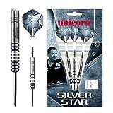 Unicorn Silver Star 80% Tungsten-Gary Anderson, Freccette Uomo, 23 G...