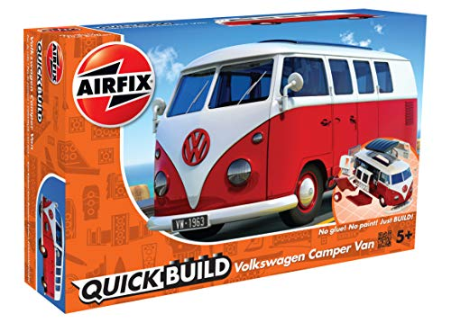 Quickbuild Quickbuild-J6017, Color Rojo, Blanco (Hornby Hobbies LTD J6017)