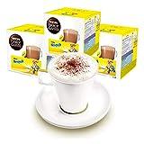 Nescafé Dolce Gusto - Juego de 3 Tazas de Regalo, Incluye Vaso, Cacao, Chocolate, cápsulas