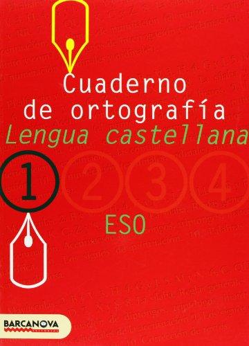 Cuaderno de ortografía 1 (Materials Educatius - Eso - Lengua Castellana) - 9788448917180