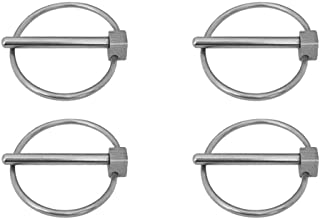 Clipsandfasteners Inc 50 1//8 X 1-1//2 Extended Prong Cotter Pins Stainless Steel