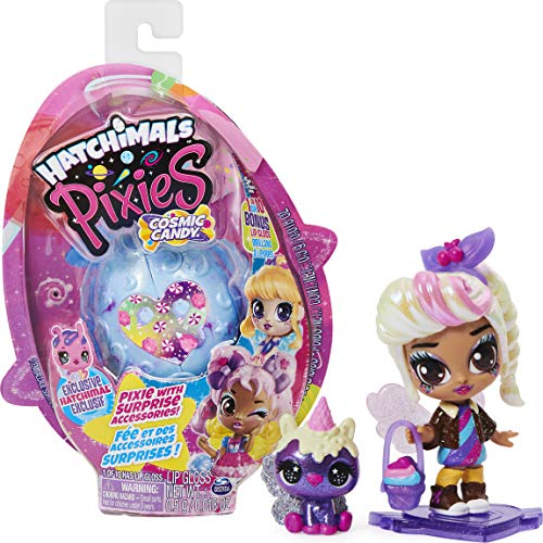 Hatchimals Pixies, Cosmic Candy Pixie con 2 Accesorios y Exclusivo CollEGGtible (los Estilos Pueden Variar)