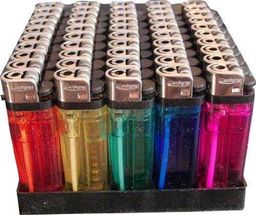 150 Einwegfeuerzeuge mit Kindersicherung